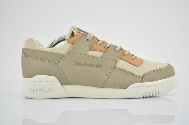"""Reebok Workout Plus Eco """"White/Vegtan/Chalk"""" 36 zamsz brąz PURRFECT"""