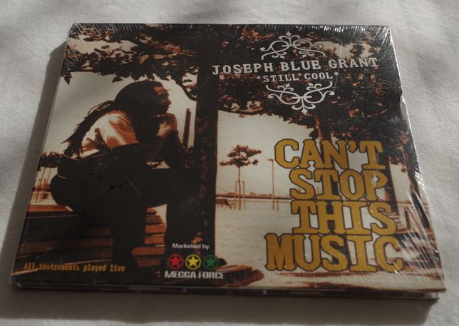 Joseph Blue Grant - Can't stop this music CD folia