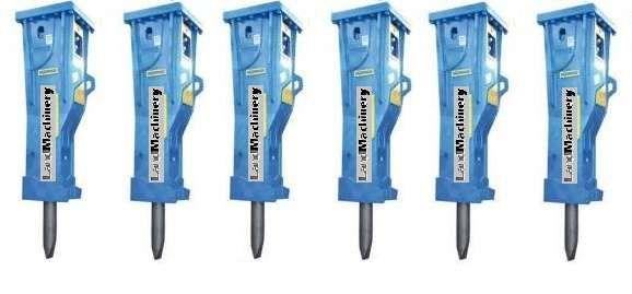 Martelos novos e acessórios hidráulicos