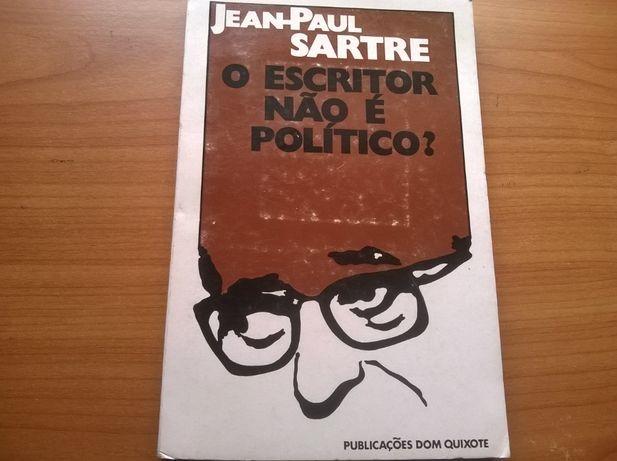 O Escritor não é Político? - Jean Paul Sartre