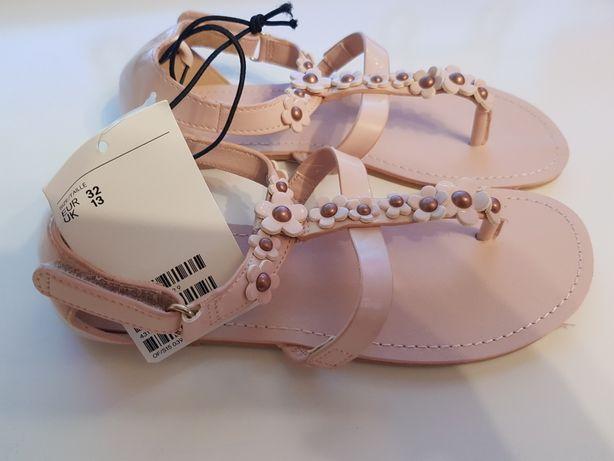 Nowe sandały japonki H&M rozmiar 32