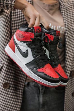 Nike Air Jordan Retro 1 Red Black