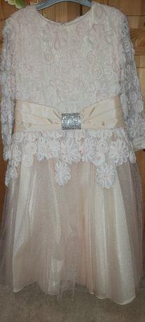 Платье нарядное (размер 128)