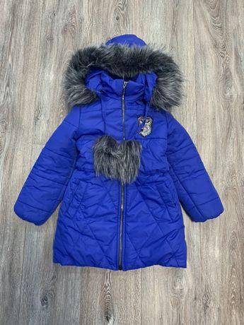 Зимняя куртка для девочки 5-6 лет