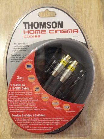THOMSON KHC016 1xS-VHS-1xS-VHS S-Video Profesjonalny Kabel Przewód 3m.