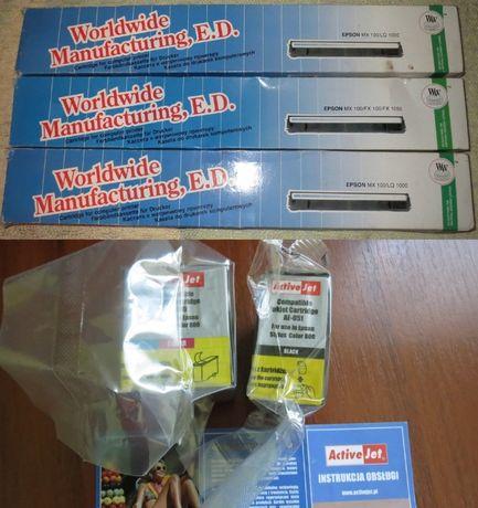 Картриджи к матричным принтерам Epson и струйным Active Jet AE 089