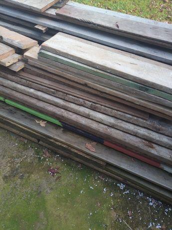 Deski szalunkowe różne długości i grubości 200zl