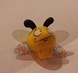 ИГРУШКА ПЛАСТИК детская пчела киндер желтая оса пчелка маленькая