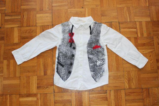 FIRMOWA H&M koszula chłopięca / dla chłopca jak nowa rozmiar 110