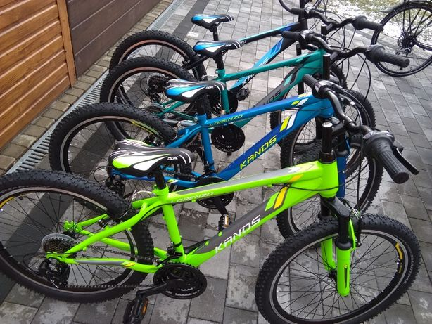 """Rower górski MTB 24"""" NOWY dziecięcy chłopięcy Junior Gwarancja 2021r"""