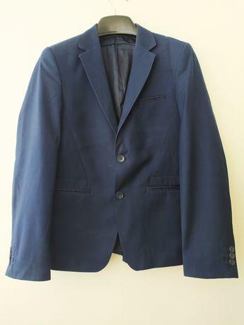 Шкільний остюм підлітковий синій. Жакет та штани. Школьная форма