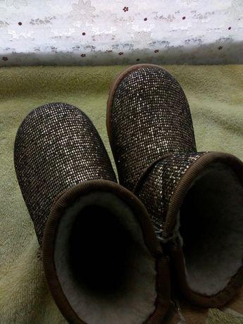 Зимние ботинки.Детские зимние сапоги.Угги детские.Сапожки на девочку.