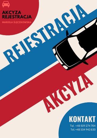 Rejestracja Samochodów Pojazdu - Akcyza - Tłumaczenia - Profesjonalnie