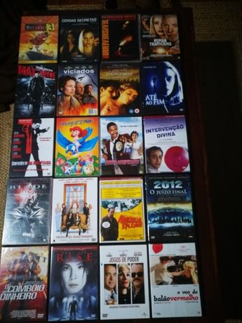 Lote de DVD's (vende-se também por unidade)