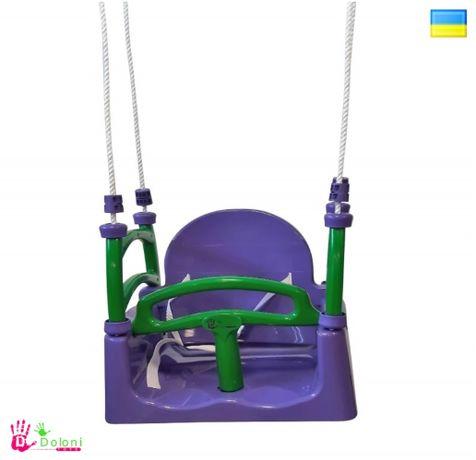 Гойдалка качеля фиолетовая 0152/5 гуталка