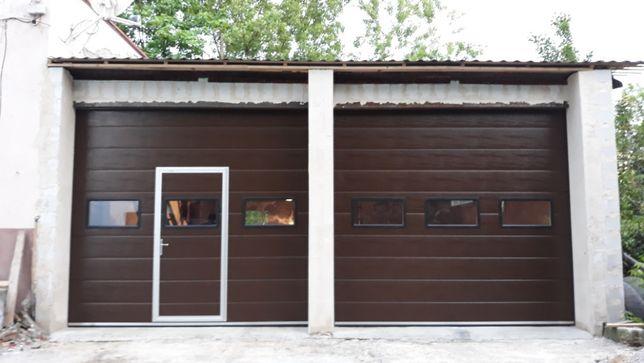 Brama segmentowa garażowa przemysłowa okleina bramy garażowe ZAMCH
