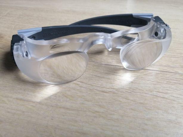 Okulary MaxTv do telewizora dla osób słabo widzących i niedowidzących