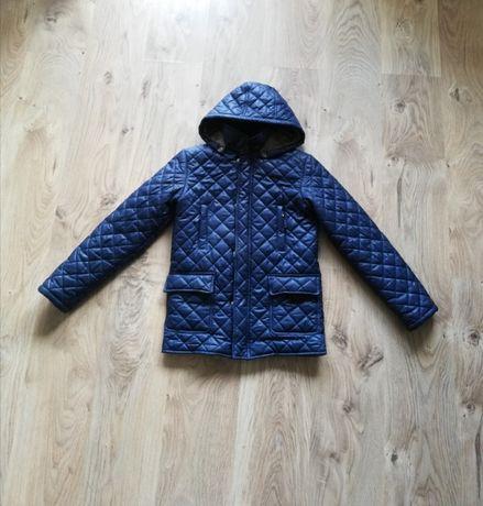 granatowa kurtka zimowa jesienna chłopięca