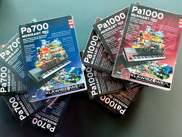 KORG PA700 / PA1000 Pakiet MUSIKANT style + brzmienia / karta SD