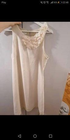 Sukienka Promod rozm L beżowa