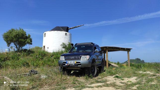 Toyota Land Cruiser kzj95 vendo/troco ler descrição