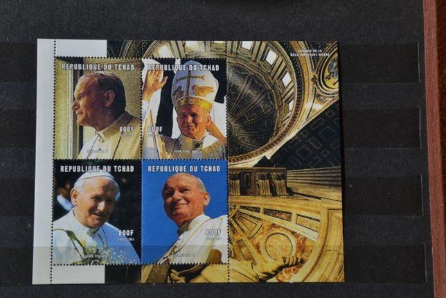 Znaczki. Czad. Papież Jan Paweł II **