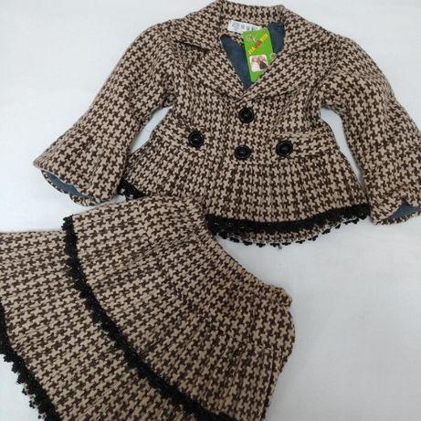 Новый теплый костюм рост 110-116
