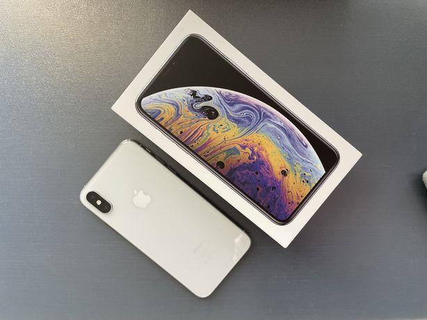 iPhone XS 64 Gb biały stan idealny dużo GRATISÓW komplet