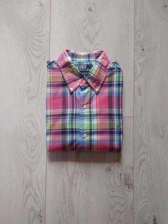 koszula męska marki Ralph Lauren roz. S custom fit