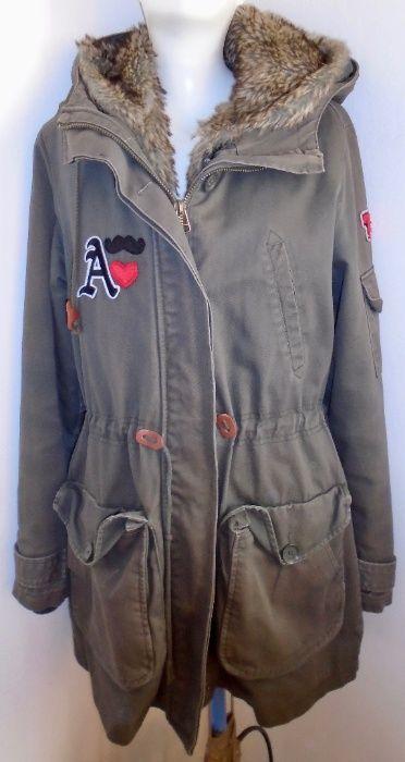 Lefties kurtka w stylu militarnym z podpinką, M, stan bdb Gdynia - image 1