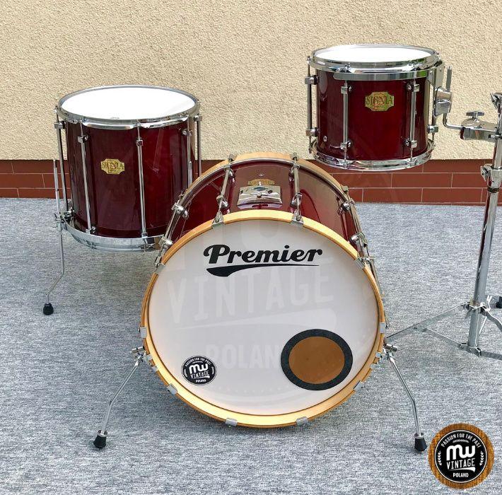 """Perkusja Premier Signia Maple Rock 22"""", 12"""", 16"""" Cherry Wągrowiec - image 1"""