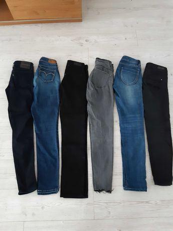 Zestaw xs/ s 6 par spodni levis 25/26 reserved tanio