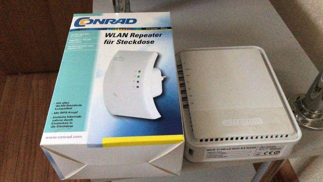 Wi-Fi Роутер Sitecom wlr-3100 + Репитер Conrad