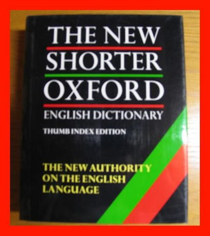 Encyklopedia The New Shorter Oxford English Dictionary 2 TOMY