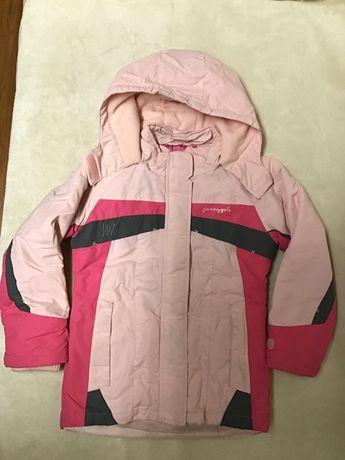 Kurtka narciarska dla dziewczynki 146