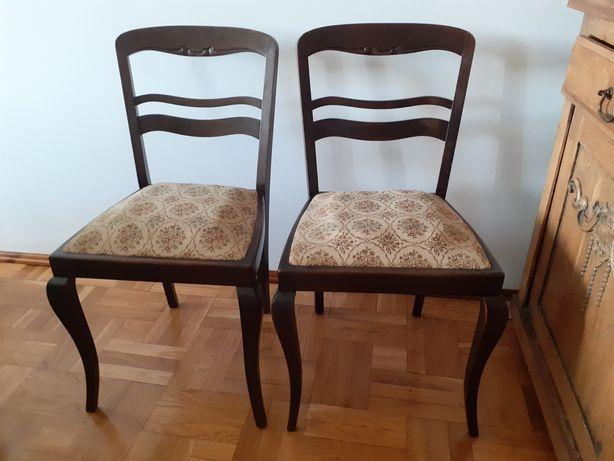 Krzesła stare  antyki  2 szt.