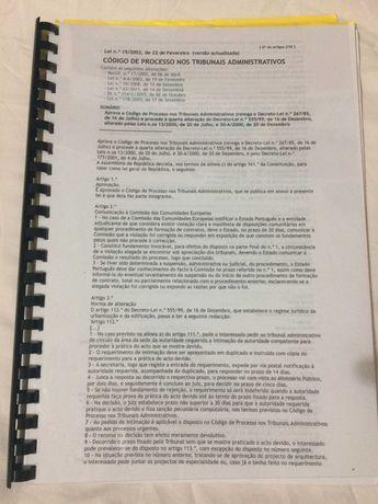 CPTA e ETAF impressos