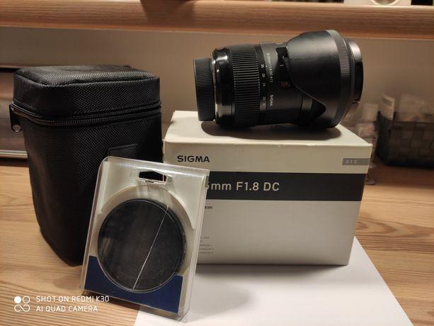 Obiektyw SIGMA ART 18-35 Nikon