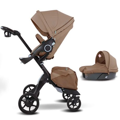 Новая детская коляска dsland xplory v8 коричневий 2в1/3в1аналог stokke