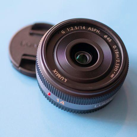 Panasonic Lumix G 14mm f2.5 H-H014 (Micro43)