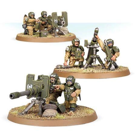Cadian heavy weapon team Warhammer 40k Astra Militarum