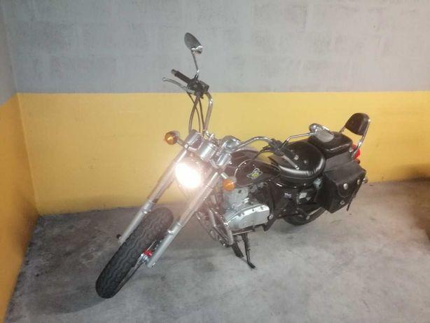 Moto Dragon-II custom 125cc ano 2010