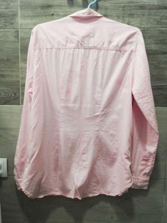 Holly & white-sliczna rozowa koszula 42