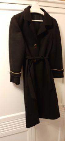 Czarny płaszcz, jak nowy!