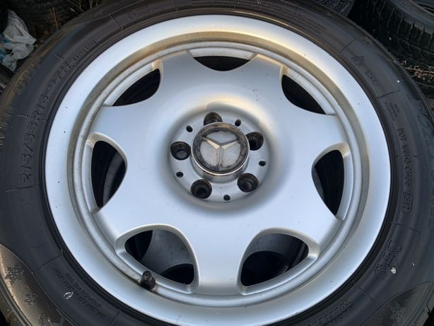 Kola aluminiowe do mercedesa 16