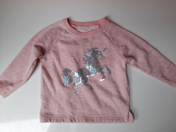Bluzeczka bluza koń PRIMARK roz 92