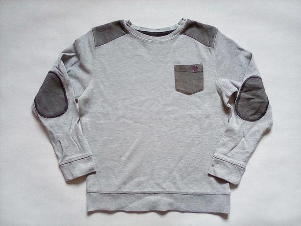 NEXT szara bluza chłopięca 140