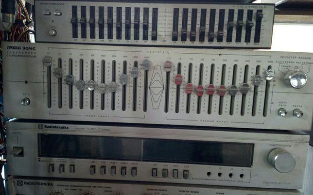 Аудиотехника времен СССР
