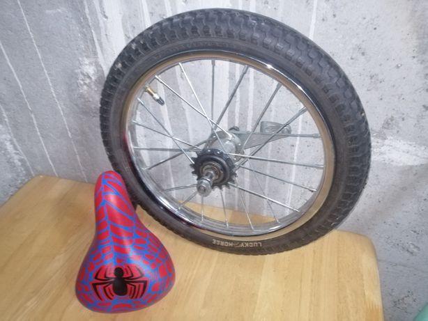 Koło rowerowe tył 16' plus siedzisko