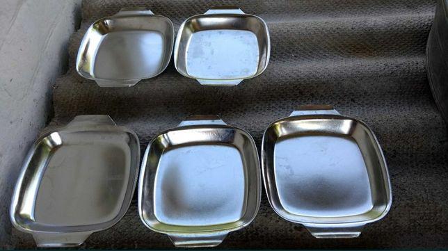 Тарелка (сковорода) нержавейка СССР, 520 грамм, толщина 2 мм, РЕДКОСТЬ